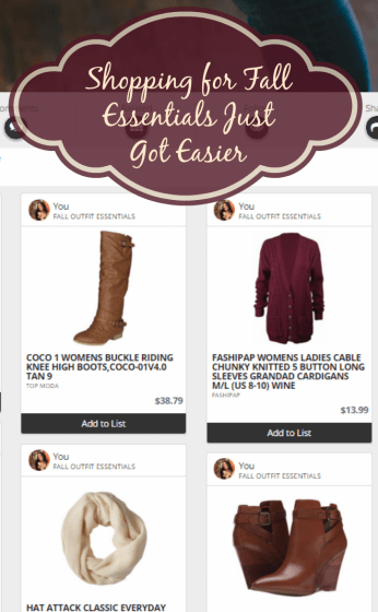 Shopping for Fall Outfit Essentials