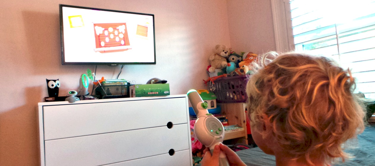 Get Your Kids Learning On Their Feet With LeapFrog LeapTV