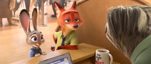 Zootopia-Sloth-Trailer-Screenshot-Nick-Wilde-Judy-Hopps-36