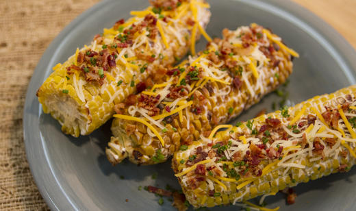 Fresh From Florida Recipes Bacon-Cheddar Corn