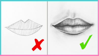 Dos Don Ts How To Draw Realistic Lips The Mouth Step By Step Art Drawing Tutorial Makoccino