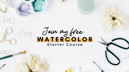 beginner watercolor course makoccino