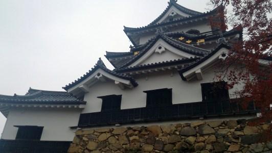 彦根城の至近距離から撮影