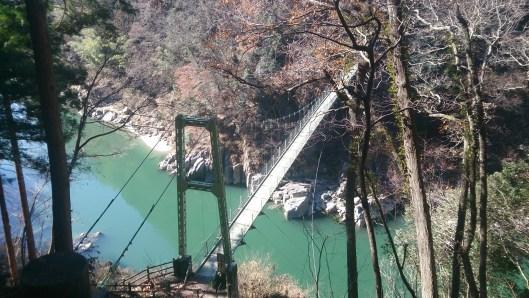 天竜峡の吊り橋01