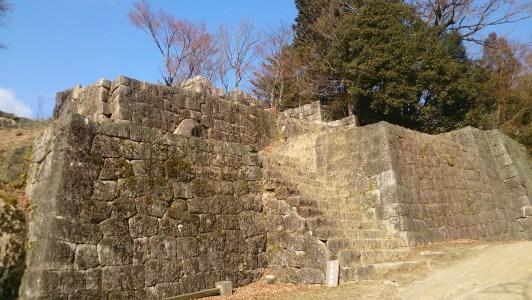 苗木城の大矢倉正面01