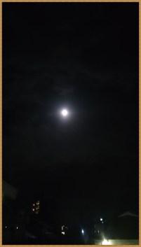 スーパーブルーブラッドムーン当日の満月01