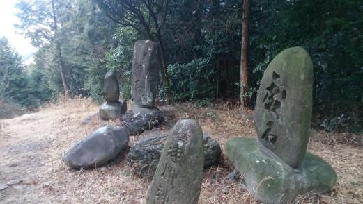 尾張富士の石碑群