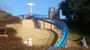 愛地球博の大型滑り台