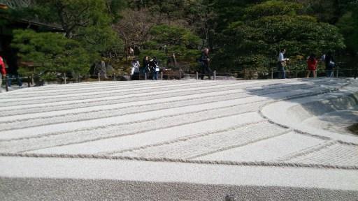 銀閣寺の銀沙灘01