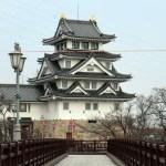 墨俣城の正面展望