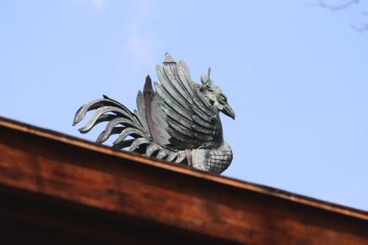 銀閣寺の鳳凰アップ01