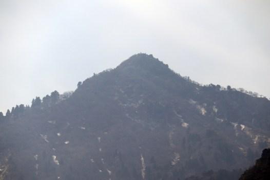 御在所2のロープ内から山々を撮影01
