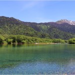 大正池2の1池の全景1