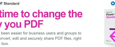 文書写真PDF化にはPowerPDF が Acrobat よりも効率的