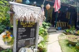 Ellas Place の部屋は場所がよくなかった。
