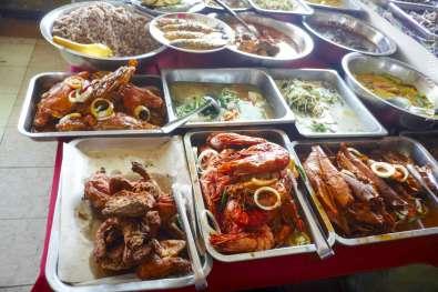 Kota Bahru の市場食堂