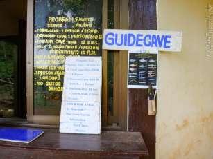 Mae La Na Cave のゲート