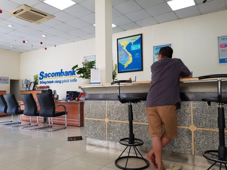 Sacom Bank サコムバンク銀行の口座維持料金は月額6000VND