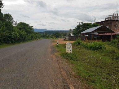 Attapu方面へ