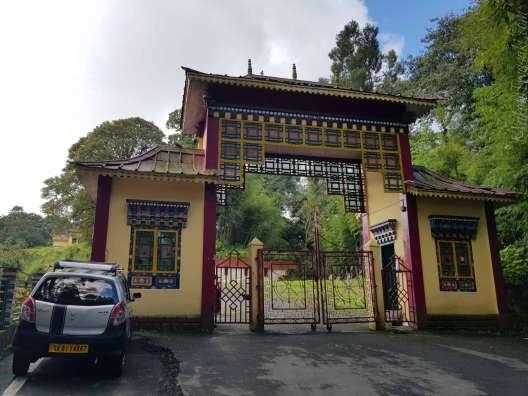 Tsuglakhang Monastery Temple in Gangtok