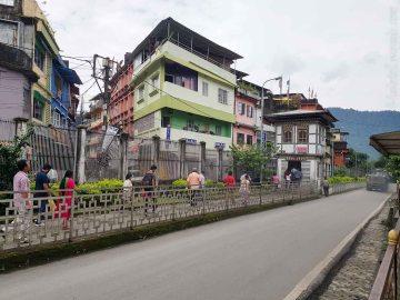 これはインド側へのEXIT。ブータン人にとってはインドへの入り口であるが。