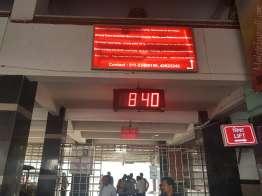 ヒンド鉄道の外人窓口で予約すると5割増価格