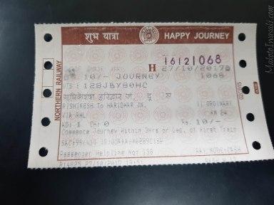 Rishikesh ー Haridwar 10Rs