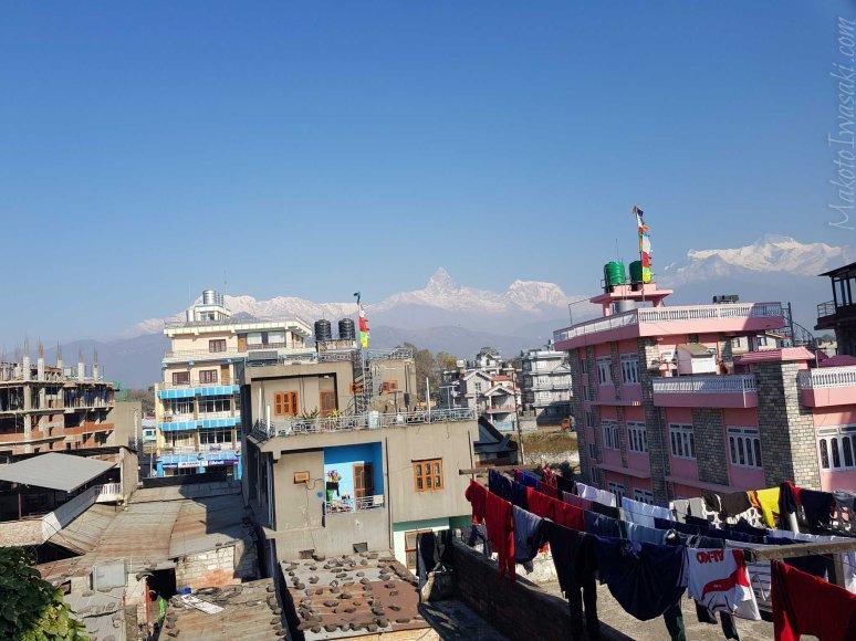 Ripisha Guest House からの眺め