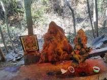 Tirupati から Tirumala 頭剃テンプルへ登る