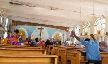 カトリック教会でミサ Divine Mercy Church チェンナイ