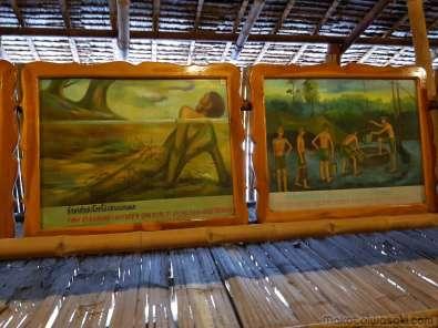 JEATH 戦争博物館 Wat Chaichumphon カンチャナブリ