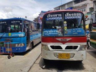 チェンコン行きバス
