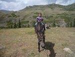 キルギスの旅は馬がよく似合う