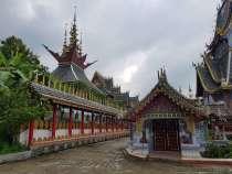 風鈴寺 Wat Mueang Boon Ruang Kiri วัดเมืองมูลบุญเรืองคีรี