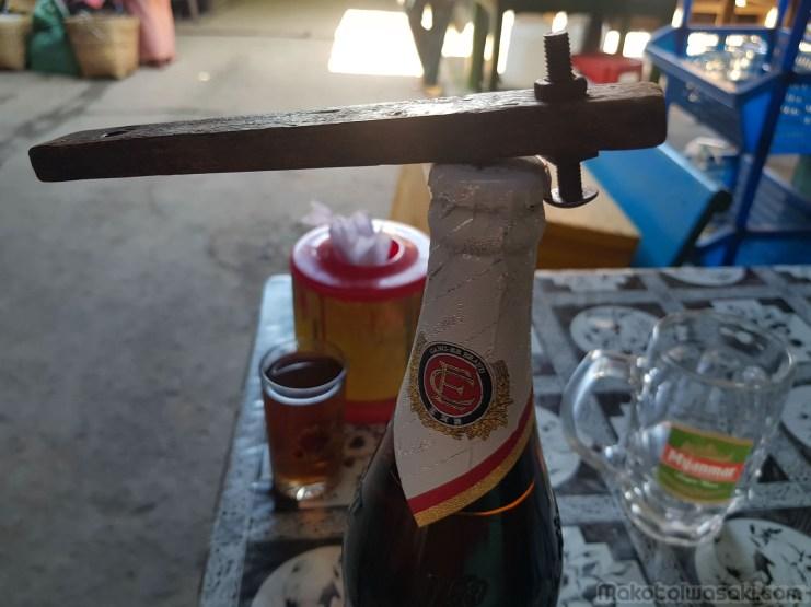 ミャンマー標準の栓抜き