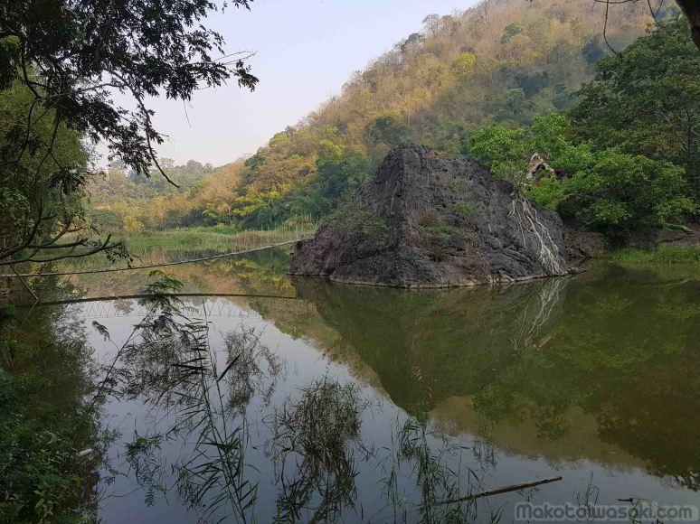 これは池。環境良し。風光明媚なところ