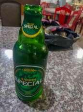 サイゴンビール15000ドン。瓶なのに缶と同じ容量330ml