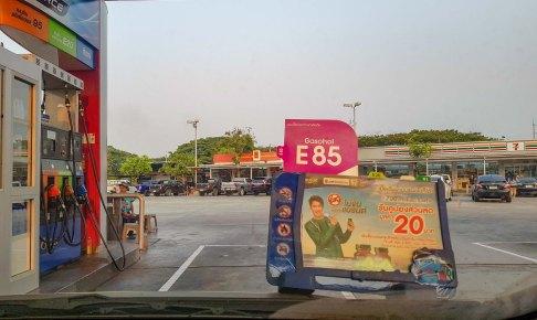 安価な E85、E20 ガソリンとは何ぞや?