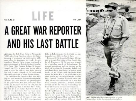 Robert Capa Last battle