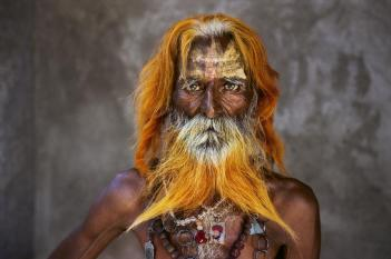 Steve McCurry,INDIA. Rajasthan. 2010. An elderly man from the Rabari Tribe.