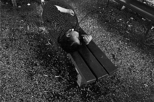 ITALY,Gorizia: Mad woman in the garden of the psychiatric hoFerdinando Sciannaspital.) Ferdinando Scianna/Magnum Photos