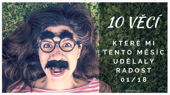 makroklid - 10 věcí pro radost v lednu