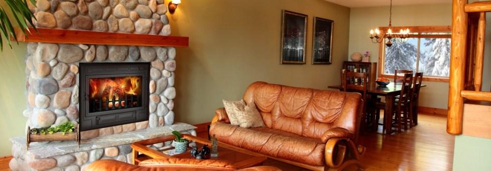 Модель Caro версиb DUO-MIX гармонично вписывается в интерьер гостинной