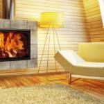 Еще один вариант интеграции в дизайн дома