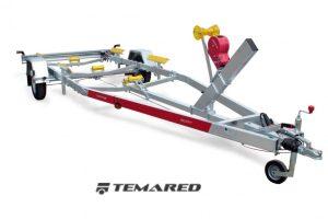Bådtrailer Model A 1300 kg 1-aksel Temared