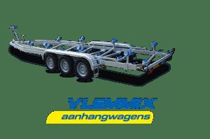 Bådtrailer Model L 3500 kg 3-aksler Vlemmix