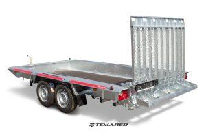 Maskin trailer Model A 2700 kg 2 aksler Temared