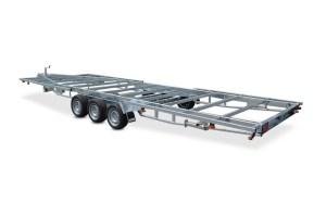 Tiny house trailer Model V 3500 kg 3-aksler Vlemmix