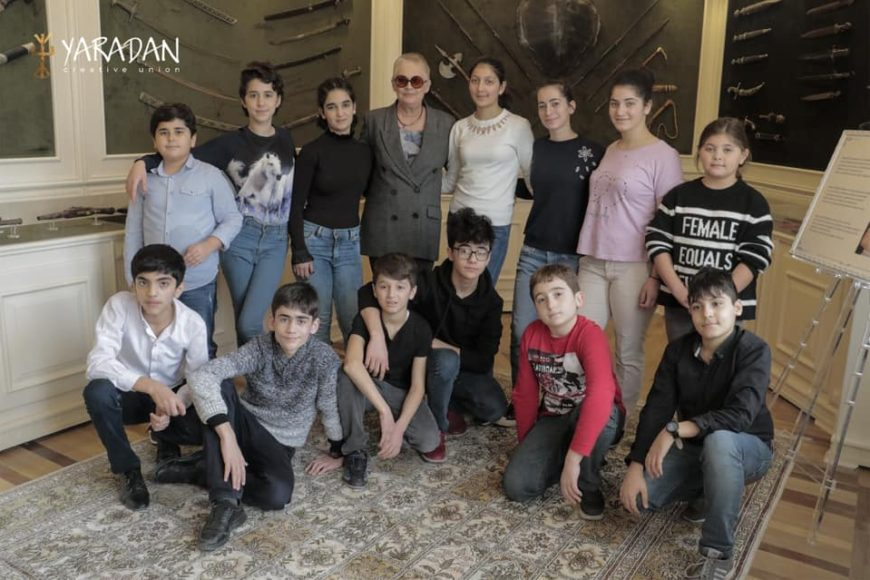 Прекрасный проект Yaradan в гостях в Центре Творчества Максуда Ибрагимбекова.