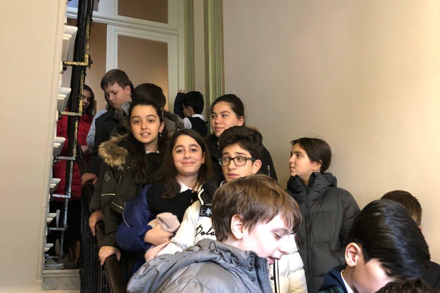 В нашем Центре побывали ученики седьмого класса классической гимназии № 160